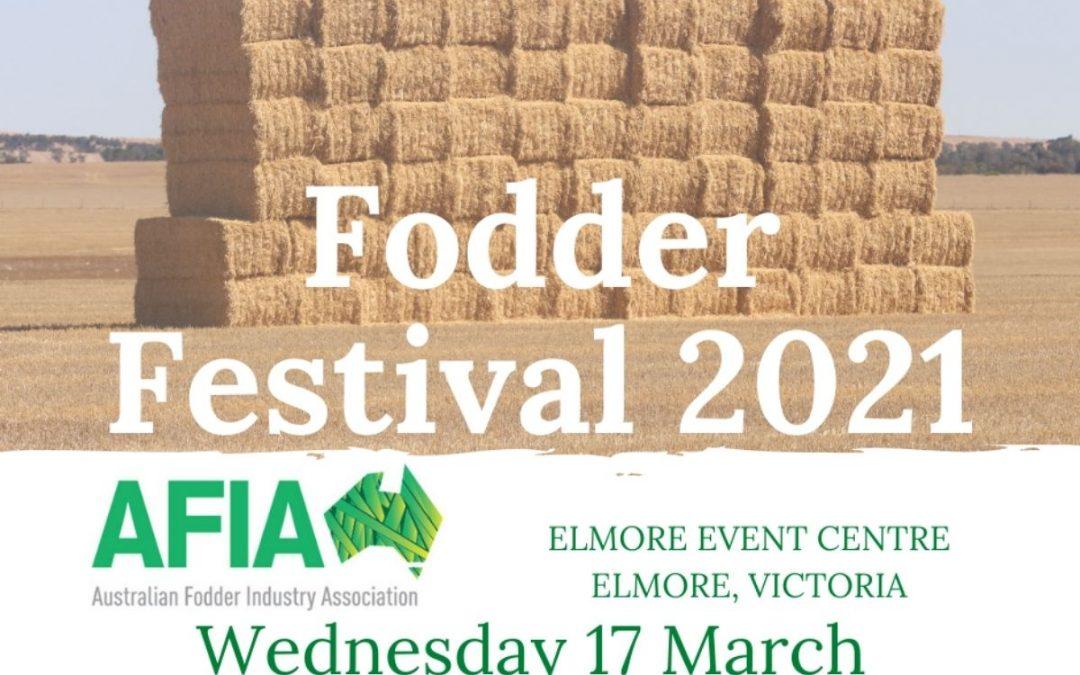 AFIA Fodder Festival 2021